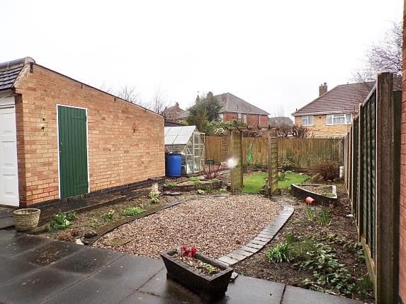 Rear Garden of Moorgate Avenue, Birstall, Leicester, Leicestershire LE4