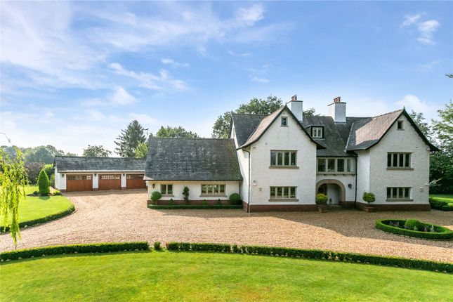 Thumbnail Detached house for sale in Crown Lane, Lower Peover, Knutsford, Cheshire