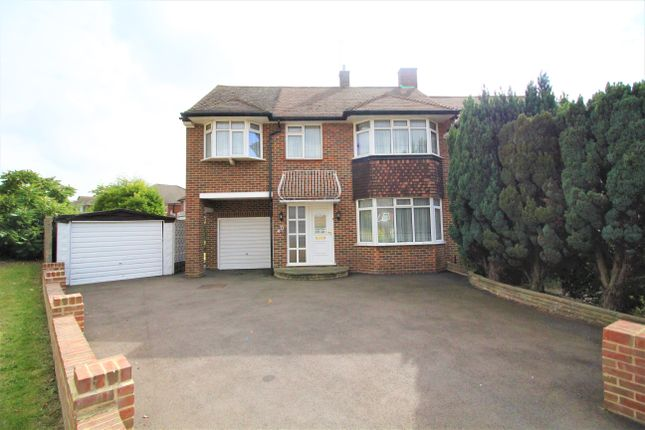 Thumbnail Semi-detached house for sale in Wilton Road, Cockfosters, Barnet