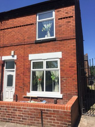 Thumbnail End terrace house for sale in Manor Road, Levenshulme, Manchester