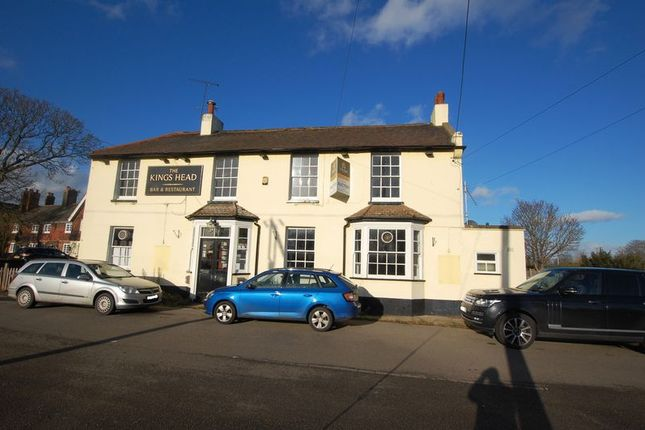 Thumbnail Pub/bar for sale in The Green, West Tilbury, Tilbury