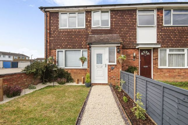 Thumbnail End terrace house for sale in Readers Court, Chelmsford, Essex