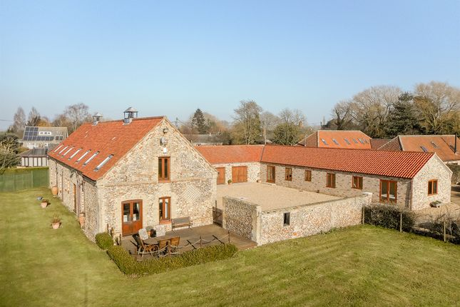 Thumbnail Barn conversion for sale in Mill Hill Road, Boughton, King's Lynn