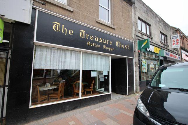 Retail premises to let in High Street, Carluke