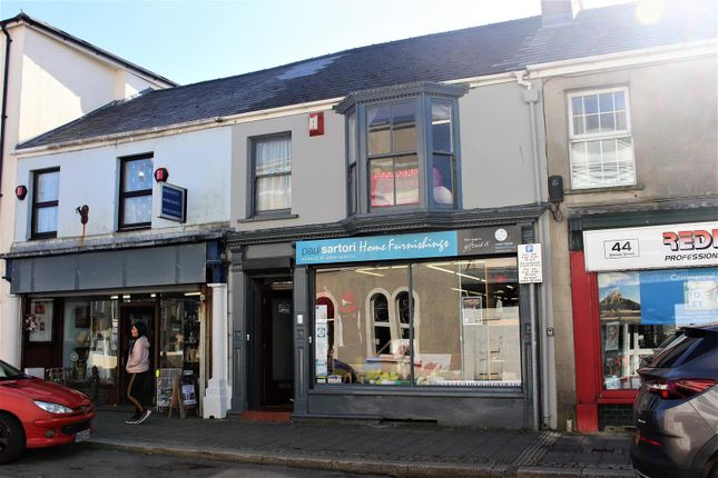 Thumbnail Commercial property for sale in Dimond Street, Pembroke Dock