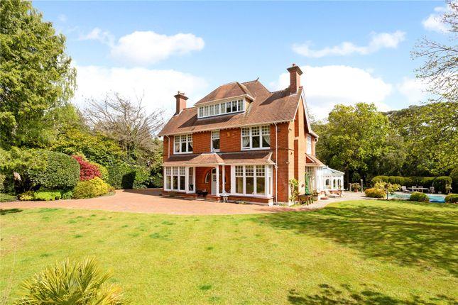 Thumbnail Detached house for sale in Western Avenue, Branksome Park, Poole, Dorset