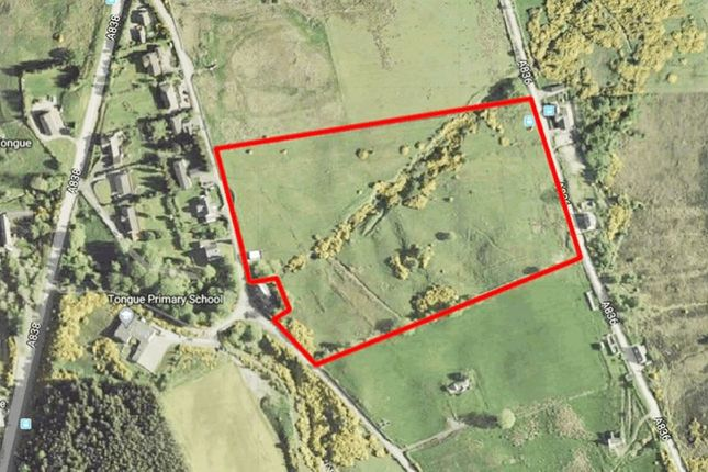 Thumbnail Land for sale in 9 Acres With Turbine Planning, Tongue Lairg Highland IV274XL