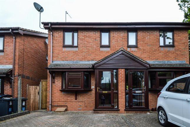Thumbnail Semi-detached house to rent in Burnside Way, Longbridge, Birmingham, West Midlands