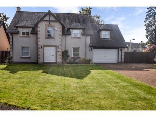 Thumbnail Detached house to rent in Druids Park, Murthly