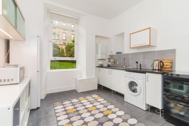 Kitchen of Buccleuch Street, Garnethill, Glasgow G3