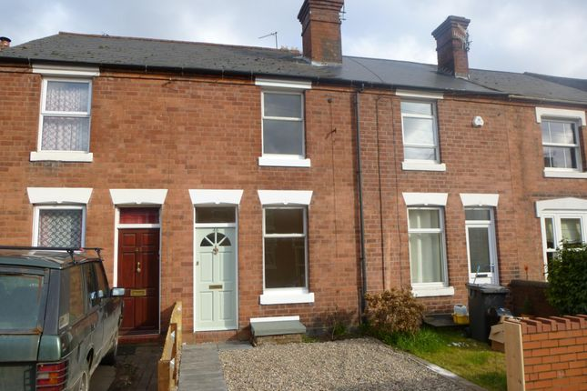 Thumbnail Terraced house to rent in Warwick Street, Stourport-On-Severn