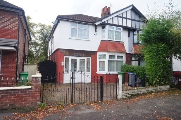 Thumbnail Property to rent in Park Drive, Whalley Range