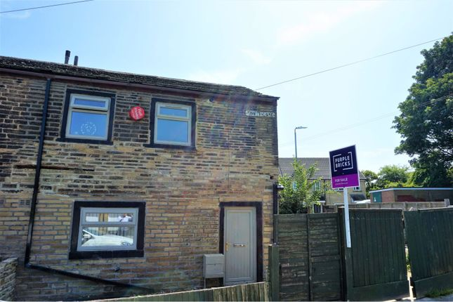 Thumbnail 2 bed end terrace house for sale in Tewit Lane, Halifax