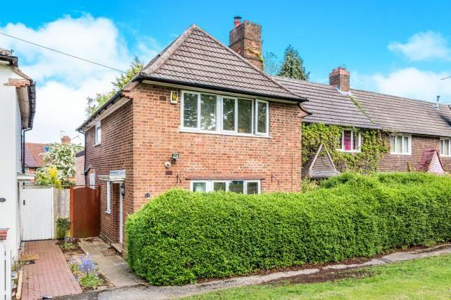 Thumbnail End terrace house for sale in Shenley Fields Road, Selly Oak, Birmingham, West Midlands