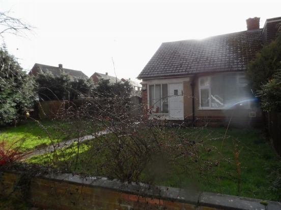 Thumbnail Semi-detached bungalow to rent in Deancourt Drive, Duston, Northampton