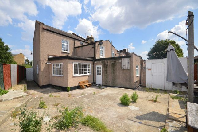 Thumbnail End terrace house to rent in Cave Road, London