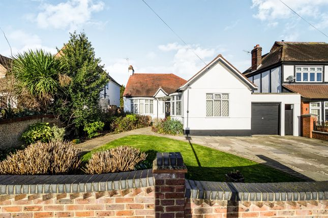 Thumbnail Bungalow for sale in Parkland Avenue, Gidea Park, Romford