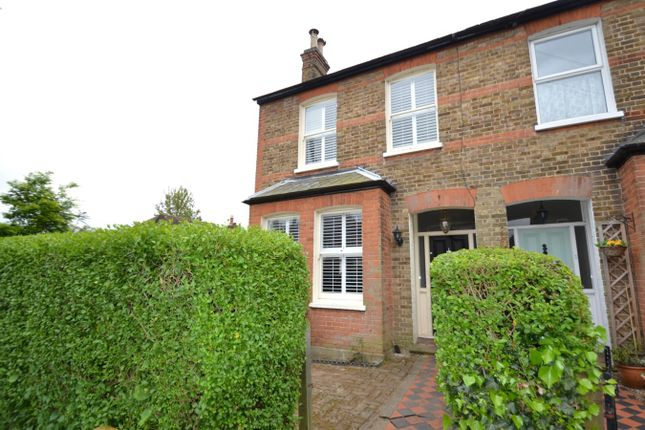 Thumbnail End terrace house for sale in Briscoe Road, Hoddesdon