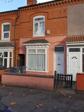 Thumbnail Terraced house for sale in Pretoria Road, Bordesley Green, Birmingham, West Midlands