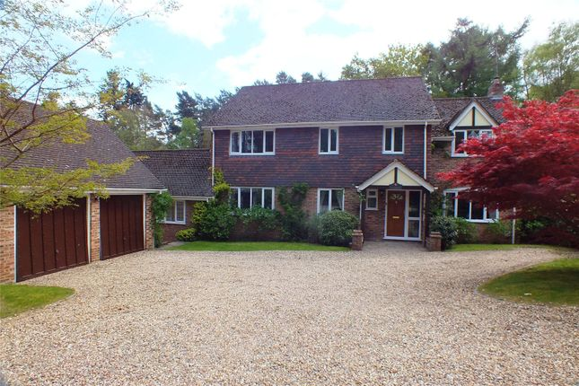Thumbnail Detached house for sale in Calthorpe Road, Fleet, Hampshire