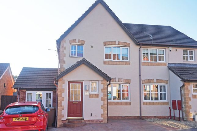 Thumbnail Semi-detached house for sale in Tansy Close, Penpedairheol