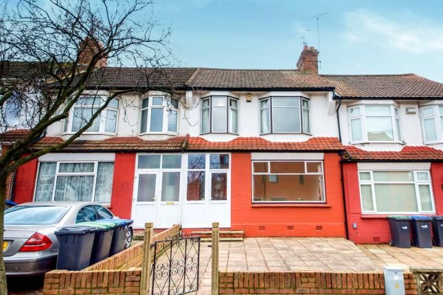 Thumbnail Terraced house for sale in Bexhill Road, Arnos Grove, London, .