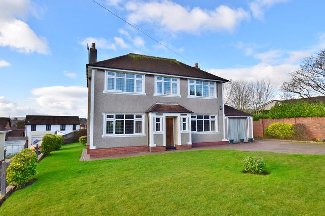 Thumbnail Detached house for sale in St Cenydd Road, Caerphilly