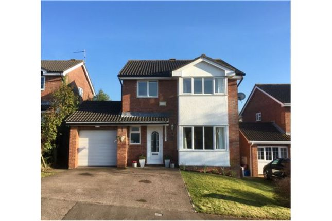 Thumbnail Detached house to rent in Maddox Close, Monmouth