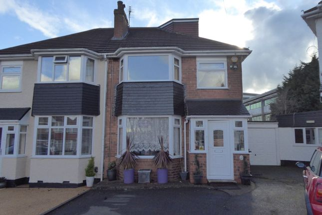 Thumbnail Semi-detached house for sale in Kemshead Avenue, Birmingham