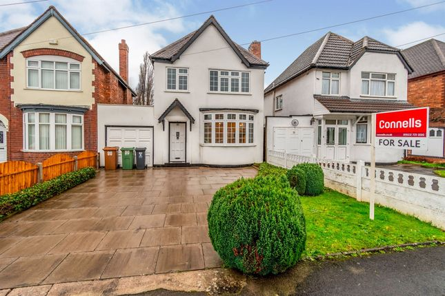 Detached house for sale in Delves Crescent, Walsall