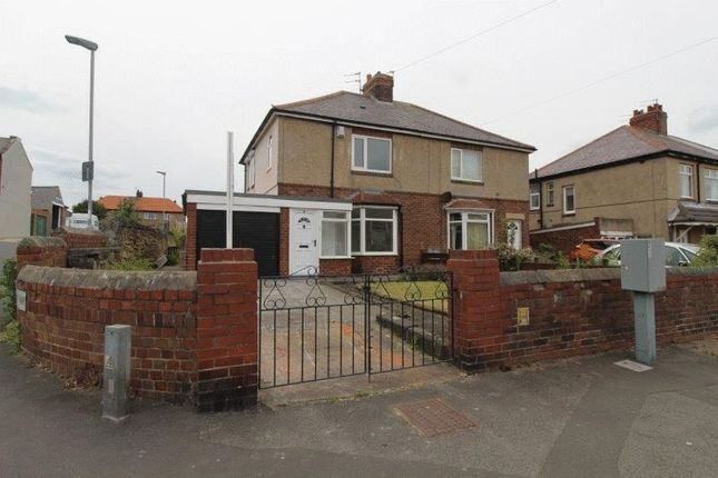 Thumbnail Semi-detached house to rent in Beresford Road, Seaton Sluice, Whitley Bay