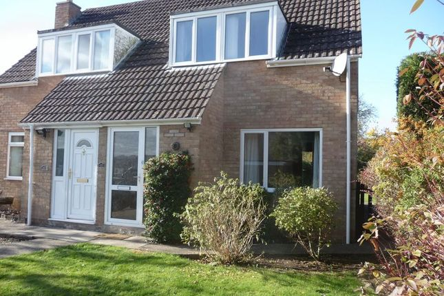 Thumbnail Semi-detached house to rent in Fairways, Wells