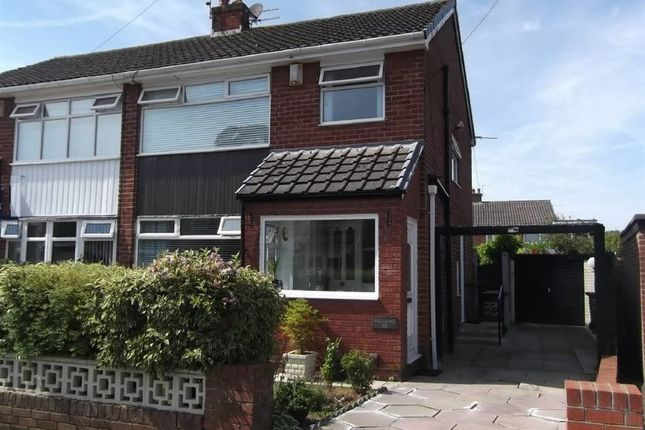 Thumbnail Semi-detached house for sale in Bishopdale Drive, Rainhill, Prescot