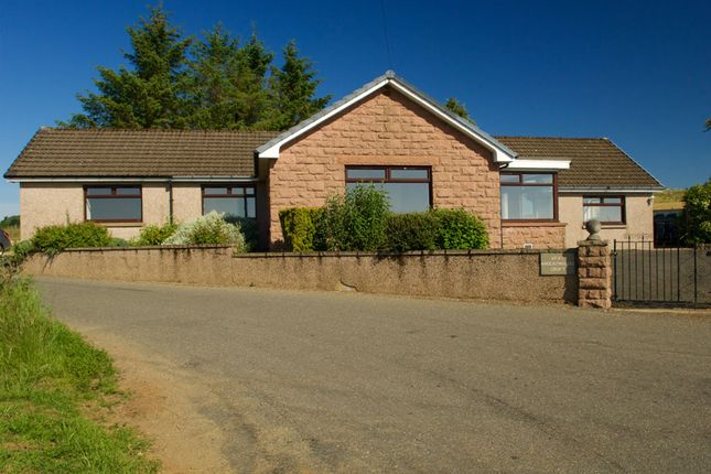 Thumbnail Detached bungalow for sale in Knockenbaird, Insch