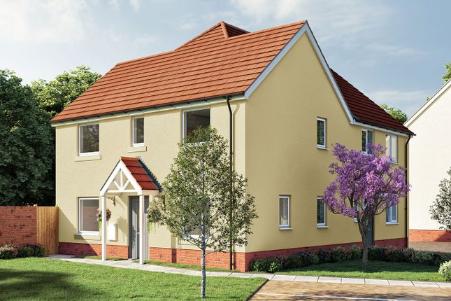 """Thumbnail Semi-detached house for sale in """"The Mountford"""" at Aller Mead Way, Williton, Taunton"""