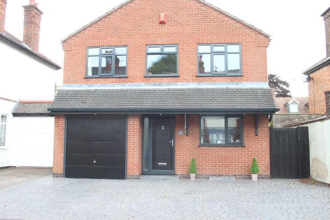 Thumbnail Detached house for sale in Victoria Road, Burbage, Hinckley