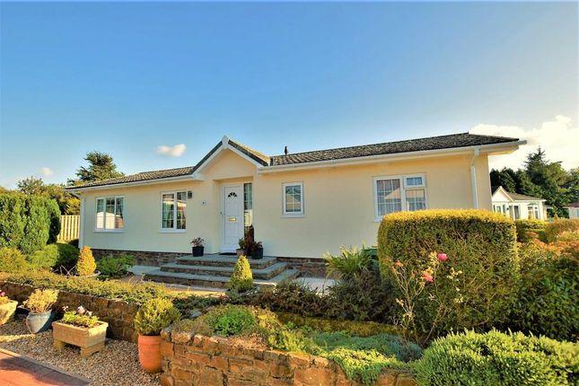 Thumbnail Detached bungalow for sale in Springfield, Four Seasons Village, Winkleigh, Devon
