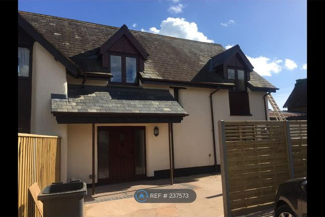 Thumbnail End terrace house to rent in The Cider Barn, Exeter