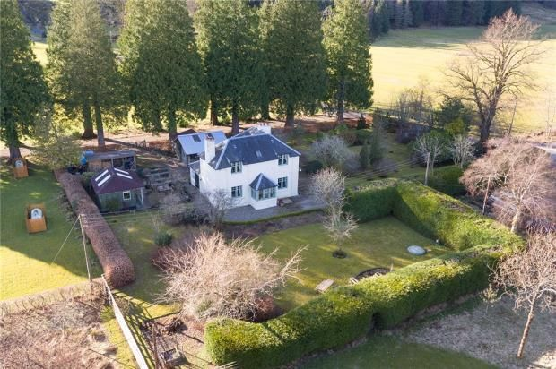 Thumbnail Detached house for sale in Ballochyle Cottage, Sandbank, Dunoon, Argyll And Bute