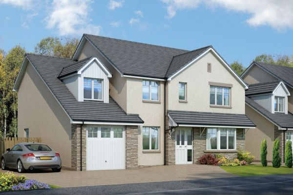 Thumbnail Detached house for sale in The Torridon Rigghouse Road, Whitburn, West Lothian