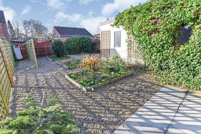 Garden of Stanhope Road, Horncastle LN9