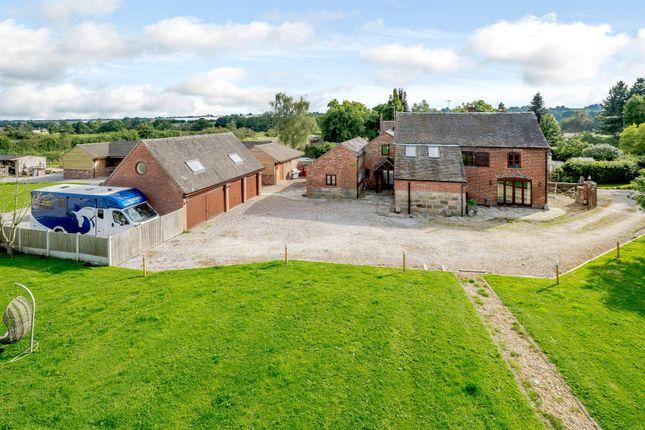5 bed barn conversion for sale in Beamhurst, Uttoxeter, Stoke On Trent, Staffordshire ST14