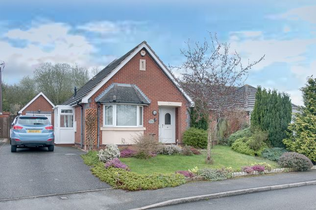 Thumbnail Detached bungalow for sale in Glenfield Close, Crabbs Cross, Redditch