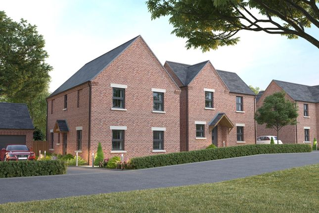 Thumbnail Detached house for sale in The Paddock, Holbrook, Belper