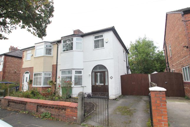 Thumbnail Property to rent in Hampson Road, Stretford, Manchester