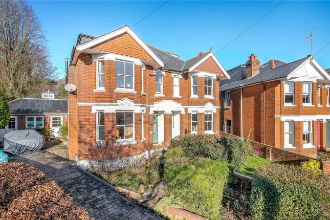 Thumbnail Semi-detached house for sale in Hatherley Road, Winchester, Hampshire