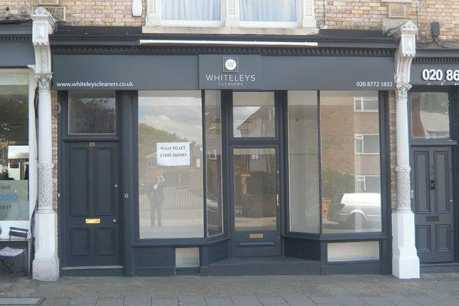 Thumbnail Retail premises to let in 89 Nightingale Lane, Wandsworth Common