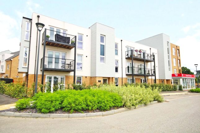 Thumbnail Flat for sale in Hawker Drive, Addlestone, Surrey