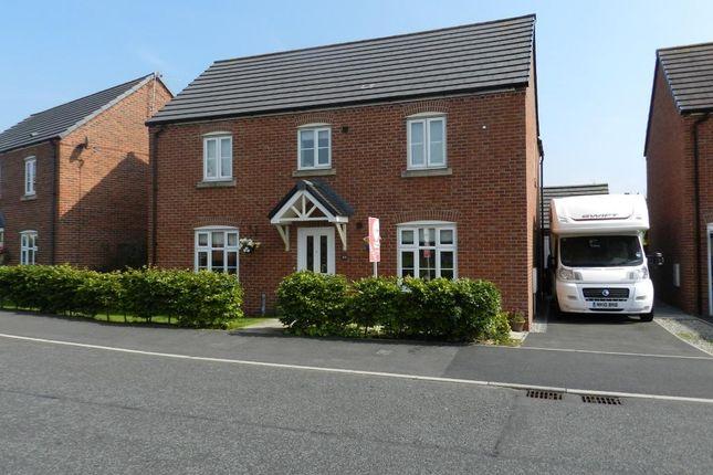 Thumbnail Detached house for sale in Douglas Avenue, Wesham, Preston, Lancashire