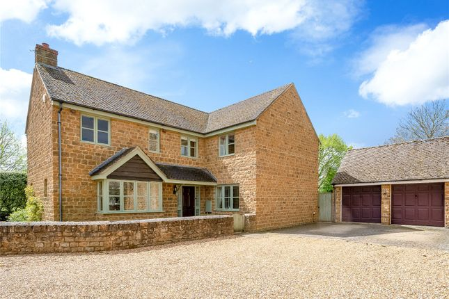 Thumbnail Detached house for sale in Dovecote Close, Milcombe, Banbury, Oxfordshire